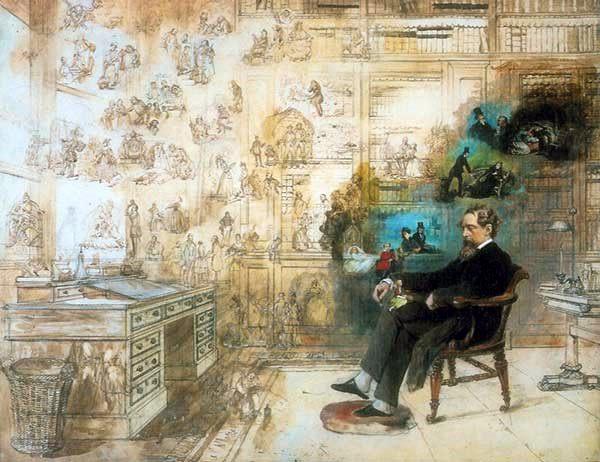 characterization, books, Dickens, writing